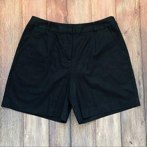 Boden   Linen Blend Pleated Shorts